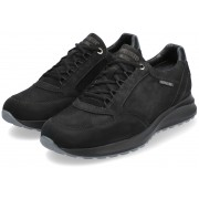 Mephisto DOYLE Men's sneaker - Leather mix - Black