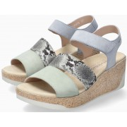 Mephisto GIANNA Women's Sandal Suede & Leather - Green Almond