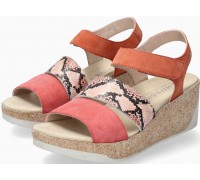 Mephisto GIANNA Women's Sandal Suede & Leather - Coral