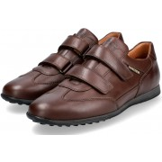Mephisto LORENS Velcro Shoes for men - Brown - Leather
