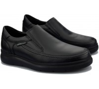 Mephisto ANDY men's slip on - leather - black