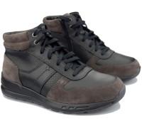 Mephisto BORAN men's sneaker high - leather mix - dark grey