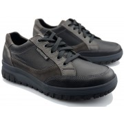 Mephisto PACO Lace-up shoe for men - Black - Leather mix