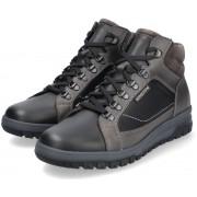 Mephisto PITT ankle boot for men - leather mix - black