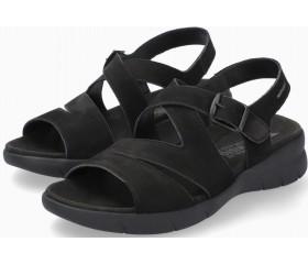 Mephisto EVA Women's Sandal Nubuck - Black