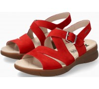 Mephisto EVA Women's Sandal Nubuck - Red