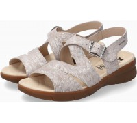 Mephisto EVA Women's Sandal Nubuck - Light Sand