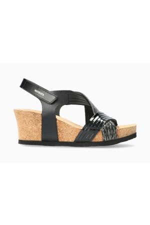 Mephisto LEONIA Women's Sandal Leather - Black