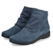 Mephisto REZIA women's ankle boot - jeans blue - nubuck