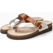 Mephisto HELEN MIX Women's Sandal Leather - Gold - Brown