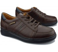 Mephisto AMELIO Men's lace-up shoe - Brown leather