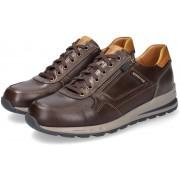 Mephisto BRADLEY men's sneaker - leather - dark brown