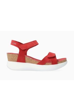 Mephisto CORALY Women's Sandal Nubuck - Red