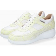 Mephisto LUDVINA Suede & Leather Sneaker for Women - Yellow