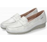Mephisto DIVA Metallic Leather Slip-On Shoe for Women - White