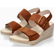 Mephisto GIULIA Women's Sandal Suede - Hazelnut