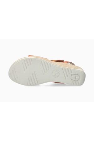 Mephisto GIULIA Women's Sandal Suede - Terracotta