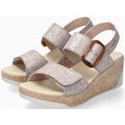 Mephisto GIULIA Women's Sandal Suede - Light Sand