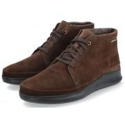 Mephisto JEFFREY men's ankle boot - dark brown - suede