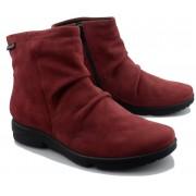 Mephisto REZIA women's ankle boot - red - nubuck