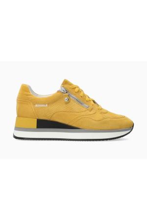 Mephisto OLIMPIA Suede Sneaker for Women - Ochre