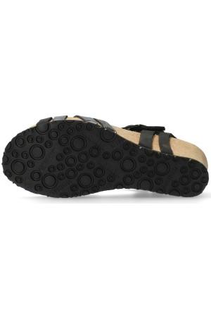 Mephisto LANNY Sandal for Women - Black Leather