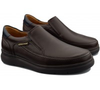 Mephisto ANDY men's slip on - leather - brown