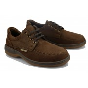 Mephisto DOUK Lace-up Shoe for Men - Dark Brown Nubuck