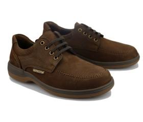 Mephisto DOUK Lace-up Shoe for Men - Dark Brown Nubuck