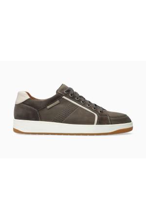 Mephisto HARRISON Leather & Suede Shoe for Men - Dark Grey