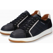 Mephisto HARRISON Leather & Suede Shoe for Men - Navy