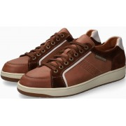 Mephisto HARRISON Leather & Suede Shoe for Men - Chestnut