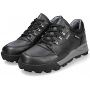 Mephisto WESLEY GT (GORE-TEX) men's lace-up shoe - black - leather  WATERPROOF