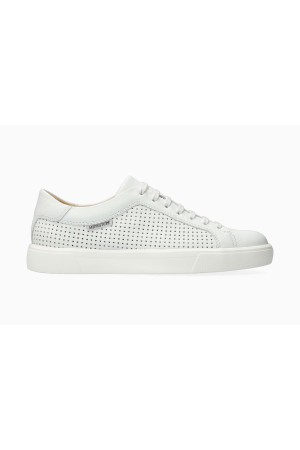 Mephisto CARL PERF Leather Shoe for Men - White