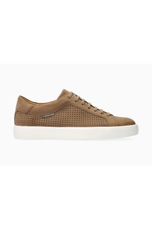Mephisto CARL PERF Suede Shoe for Men - Taupe