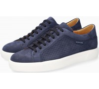 Mephisto CARL PERF Suede Shoe for Men - Navy