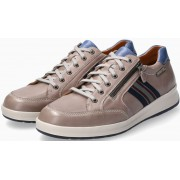 Mephisto LISANDRO Smooth Leather Lace-Up Shoe for Men - Light Grey