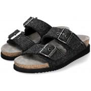Mephisto HESTER Women's Sandal Textile - Black