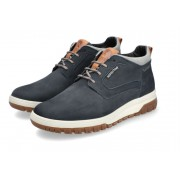 Mephisto PEDRO GT men's ankle boot - blue - nubuck - WATERPROOF