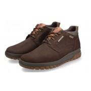 Mephisto PEDRO GT men's ankle boot - brown - nubuck - WATERPROOF
