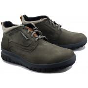 Mephisto PEDRO GT men's ankle boot - dark grey - nubuck - WATERPROOF