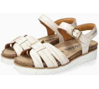 Mobils by Mephisto TISIANE Sandal for Women Leather - WIDE FIT - Light Sand