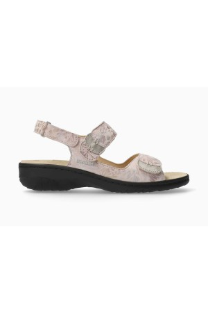 Mobils by Mephisto GETHA Sandal for Women Leather - WIDE FIT - Nude