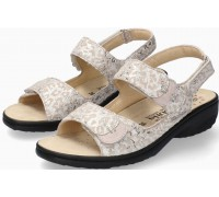 Mobils by Mephisto GETHA Sandal for Women Leather - WIDE FIT - Light Sand