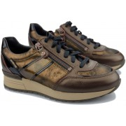 Mephisto Toscana sneaker for women leather mix - bronze