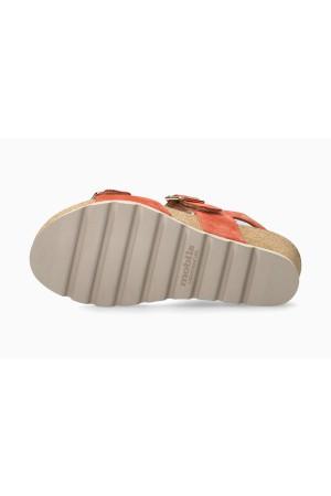 Mobils by Mephisto ALYCE Women Sandal Nubuck - Wide Fit - Terracotta