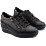 Mobils by Mephisto Patsy -  Women's sneaker - black leather - Wide fit