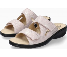 Mobils by Mephisto GEVA Women Sandal Leather - Wide Fit - Nude