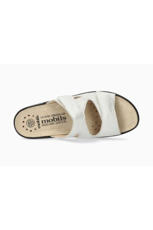 Mobils by Mephisto GEVA Women Sandal Leather - Wide Fit - White