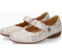 Mobils by Mephisto FLORA Leather Slip-On Shoe For Women - Wide Fit - Light Sand
